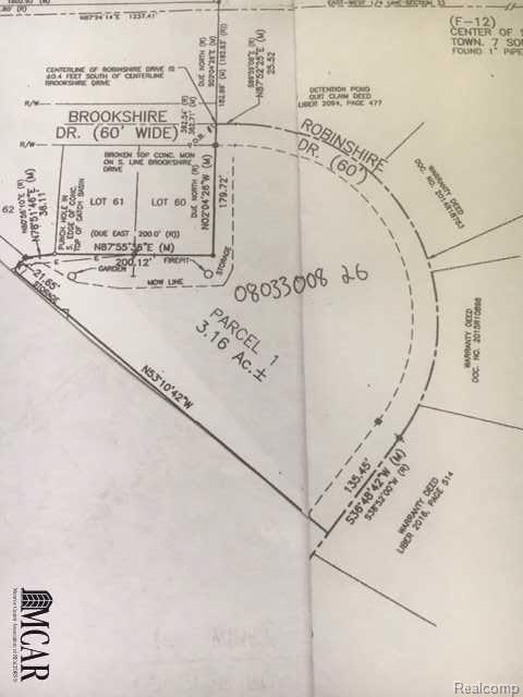0 Robinshire, Temperance, MI 48182 (#57031359552) :: Duneske Real Estate Advisors
