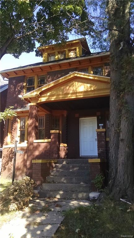8320 Townsend Street, Detroit, MI 48213 (#218091769) :: RE/MAX Classic