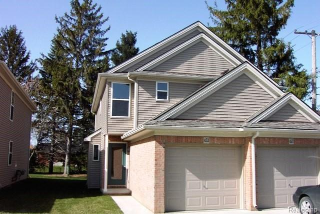 453 South Street #1, South Lyon, MI 48178 (#218091820) :: The Mulvihill Group