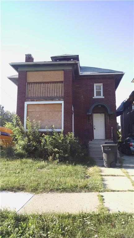 2226 Taylor Street, Detroit, MI 48206 (#218091963) :: RE/MAX Classic