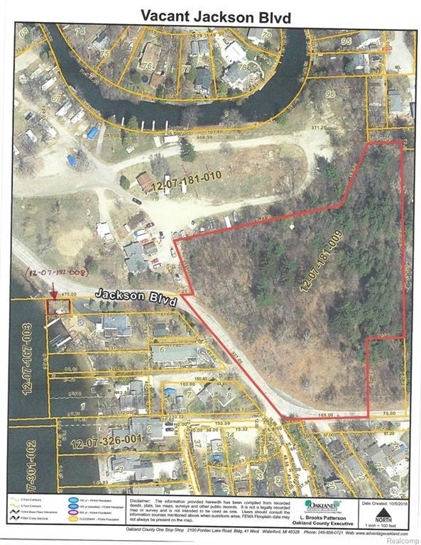 VACANT Jackson Blvd, White Lake Twp, MI 48383 (#218097613) :: The Buckley Jolley Real Estate Team