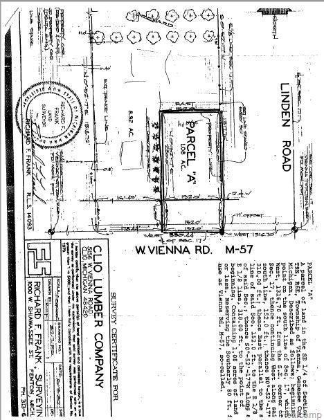 5156 W Vienna Road, Vienna Twp, MI 48420 (#218103141) :: Keller Williams West Bloomfield