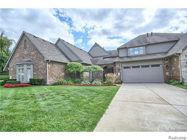 10840 Sparkling Waters Court, Green Oak Twp, MI 48178 (#218106031) :: The Mulvihill Group
