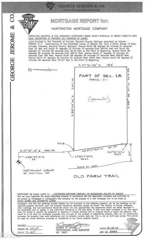 72780 Old Farm Trail, Armada Twp, MI 48005 (#58031368606) :: The Mulvihill Group