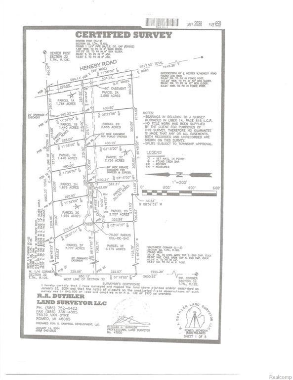 Parcel 2C Laken, Imlay Twp, MI 48444 (#219006408) :: The Buckley Jolley Real Estate Team
