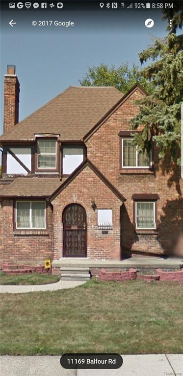 11169 Balfour Road, Detroit, MI 48224 (#219007283) :: RE/MAX Classic