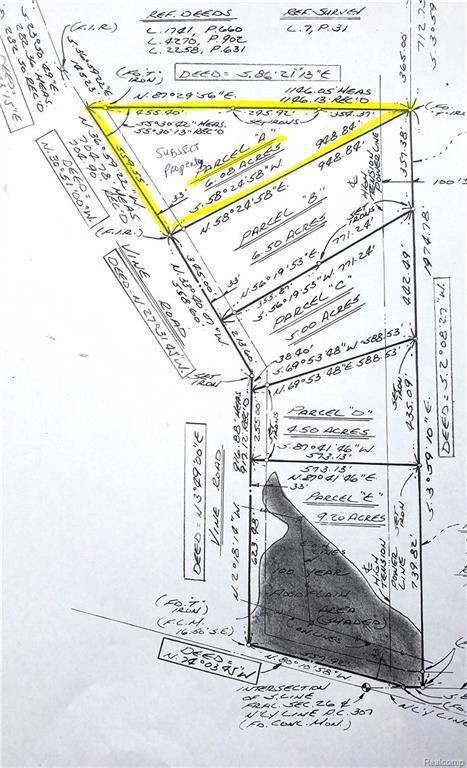 V/L Vine (Parcel A) Road, Saint Clair, MI 48079 (#219008864) :: The Buckley Jolley Real Estate Team