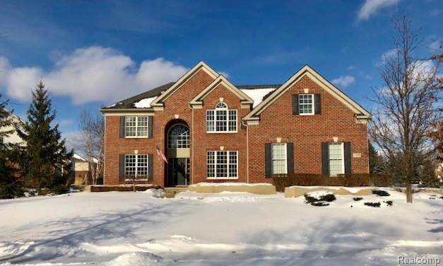 18808 Bayberry Way, Northville Twp, MI 48168 (#219008933) :: RE/MAX Classic