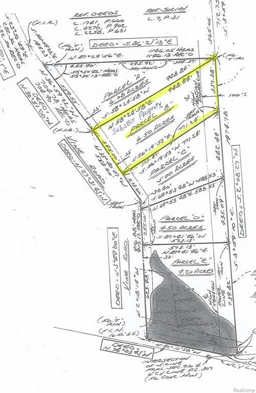 V/L Vine (Parcel B) Road, Saint Clair, MI 48079 (#219008949) :: The Buckley Jolley Real Estate Team