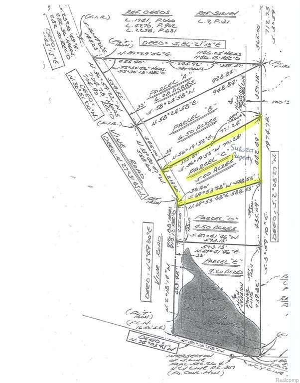 V/L Vine (Parcel C) Road, Saint Clair, MI 48079 (#219008986) :: The Buckley Jolley Real Estate Team