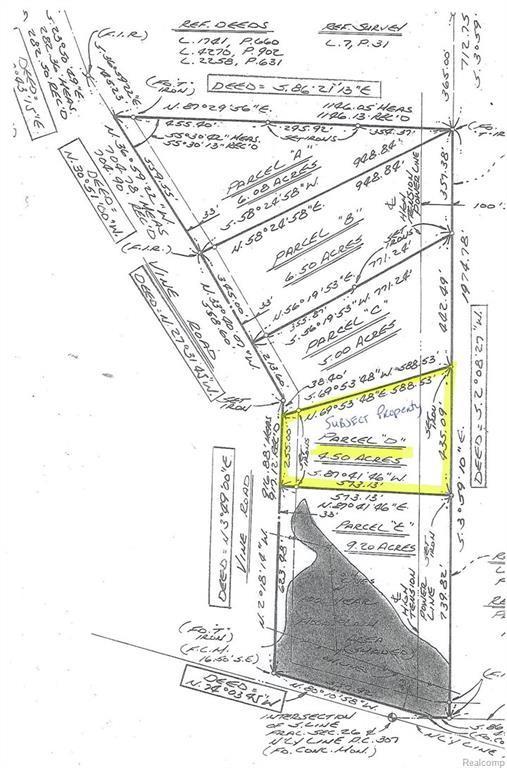 V/L Vine (Parcel D) Road, Saint Clair, MI 48079 (#219009010) :: The Buckley Jolley Real Estate Team