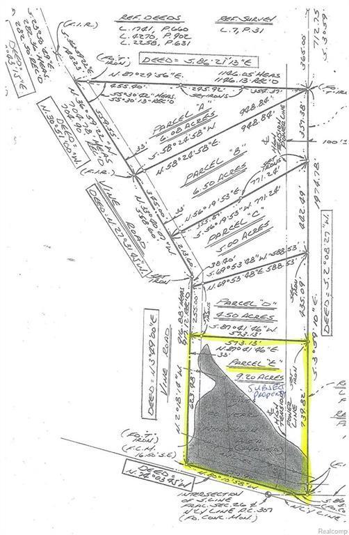 VL Vine (Parcel E) Road, Saint Clair, MI 48079 (#219009024) :: The Buckley Jolley Real Estate Team