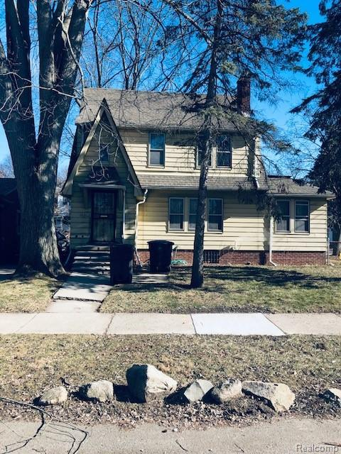 16802 Beaverland Street, Detroit, MI 48219 (#219013310) :: Keller Williams West Bloomfield
