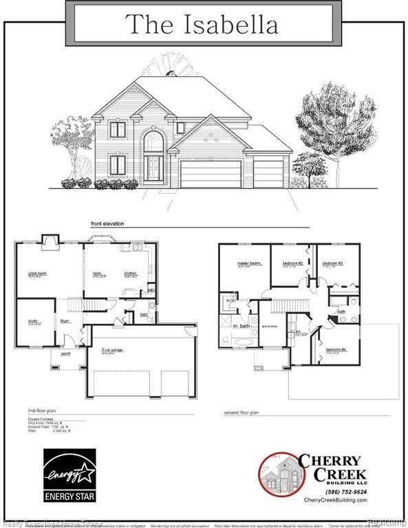 21977 Highlands Dr, Macomb Twp, MI 48044 (#219023690) :: The Buckley Jolley Real Estate Team