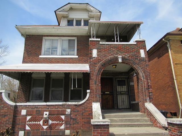4230 Clements Street, Detroit, MI 48238 (MLS #219027132) :: The Toth Team