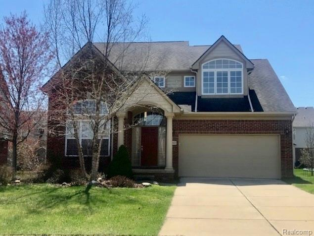 16227 Westminister Drive, Northville Twp, MI 48168 (#219028118) :: The Alex Nugent Team | Real Estate One