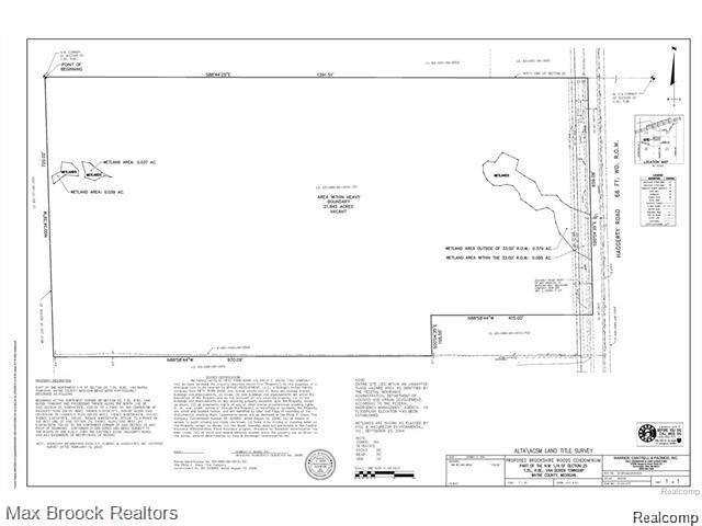 0000 Haggerty Road, Van Buren Twp, MI 48111 (MLS #219031158) :: The Toth Team