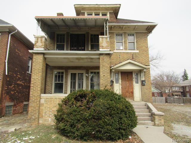 4046 Blaine Street, Detroit, MI 48204 (MLS #219031888) :: The Toth Team