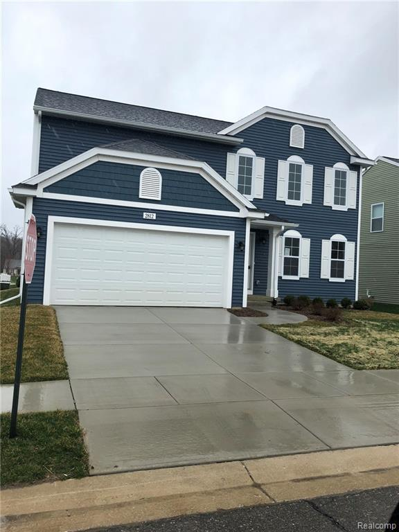 2812 W Fork River Drive, Handy Twp, MI 48836 (#219038419) :: The Buckley Jolley Real Estate Team