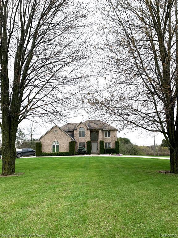 4809 Kidder Road, Almont Twp, MI 48003 (#219041208) :: The Buckley Jolley Real Estate Team