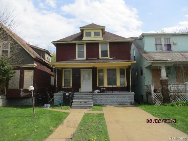 5329 Pacific Street, Detroit, MI 48204 (MLS #219045014) :: The Toth Team