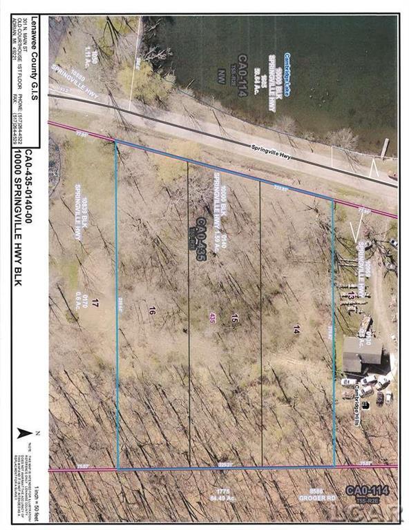 Springville Hwy, Onsted, MI 49230 (#56031381334) :: GK Real Estate Team