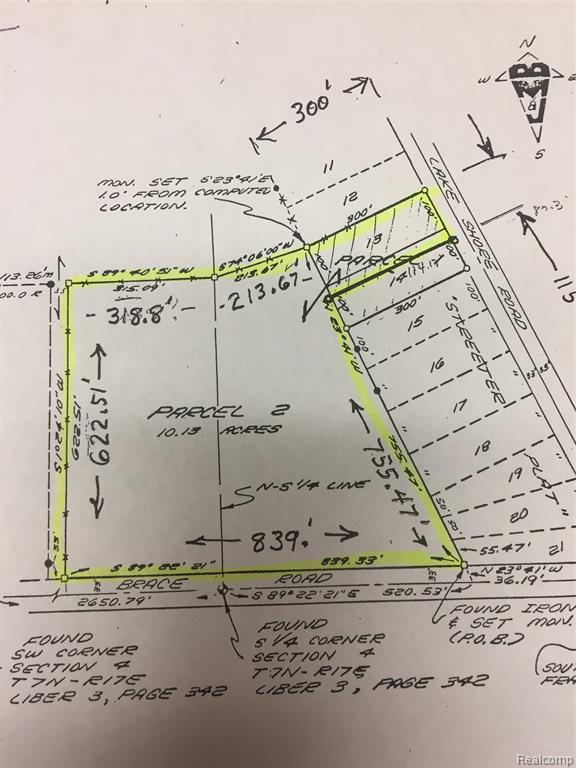 #### Brace Road, Fort Gratiot Twp, MI 48059 (#219053985) :: The Buckley Jolley Real Estate Team