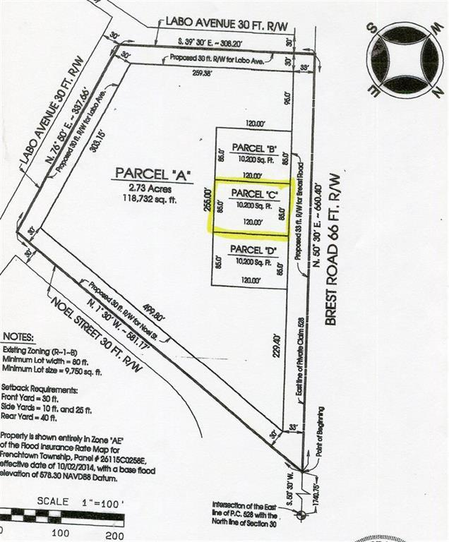 0 Brest Road Lot C, Frenchtown Twp, MI 48166 (#57031383656) :: The Mulvihill Group