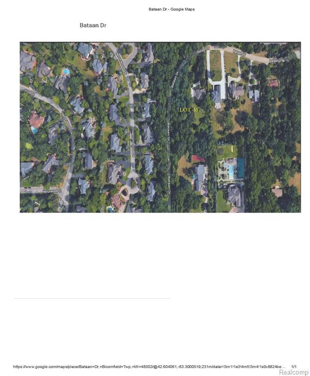 0000 Bataan Drive, Bloomfield Twp, MI 48302 (#219061952) :: RE/MAX Nexus