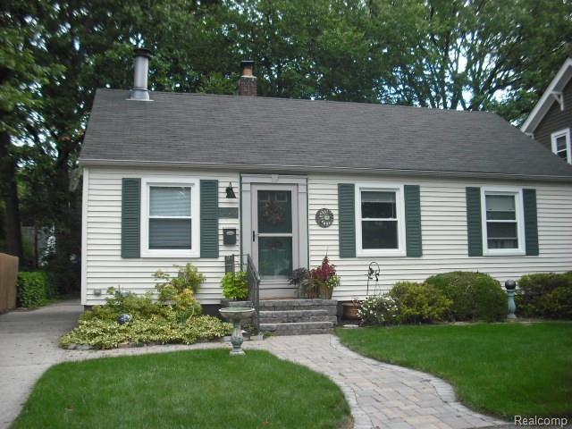1220 N Blair Avenue, Royal Oak, MI 48067 (#219069549) :: The Alex Nugent Team | Real Estate One