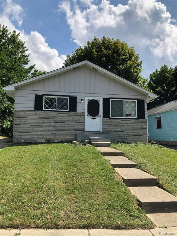 49 W Fairmount Avenue, Pontiac, MI 48340 (#219070923) :: Duneske Real Estate Advisors