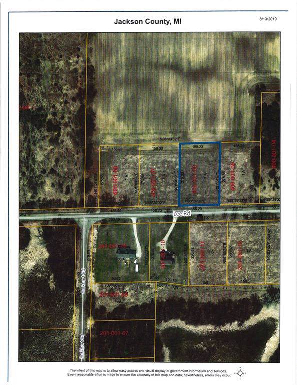 0 Lee Road Lot 24, Grass Lake Twp, MI 49201 (#543268042) :: Alan Brown Group