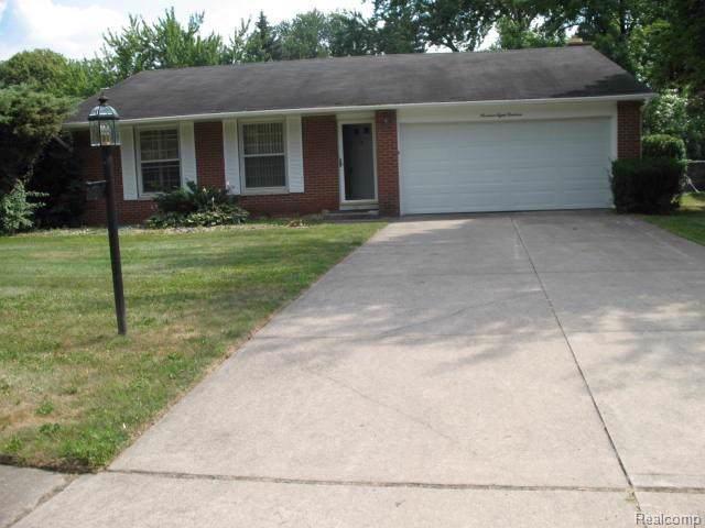 19819 Northbrook Drive, Southfield, MI 48076 (#219083480) :: RE/MAX Classic
