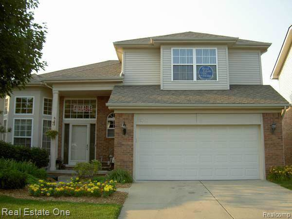 3048 Bridlewood, Oakland Twp, MI 48306 (#219083667) :: Alan Brown Group