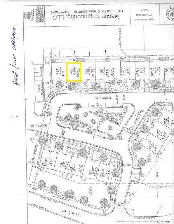 1475 Duncan Court, Chelsea, MI 48118 (#543268257) :: The Buckley Jolley Real Estate Team