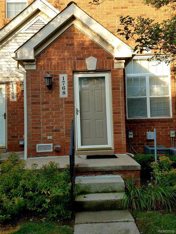 1768 Campau Farms Circle Circle, Detroit, MI 48207 (MLS #219086567) :: The Toth Team