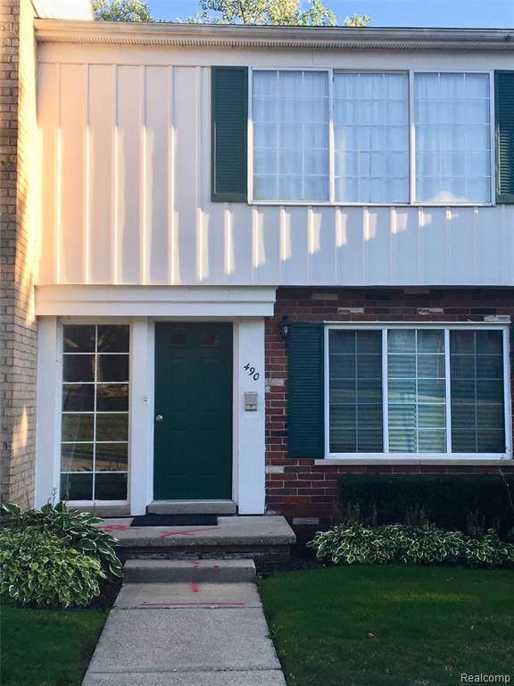 490 Miller Avenue #105, Rochester, MI 48307 (#219088592) :: The Mulvihill Group