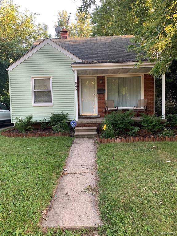 945 Voorheis Street, Pontiac, MI 48341 (#219090807) :: The Buckley Jolley Real Estate Team