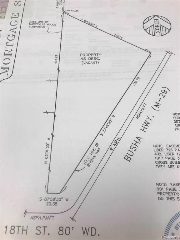 v/l Busha Highway, Marysville, MI 48040 (#219091198) :: The Buckley Jolley Real Estate Team