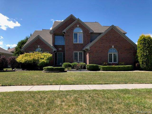 50749 Shenandoah, Macomb Twp, MI 48044 (#219091651) :: The Alex Nugent Team | Real Estate One