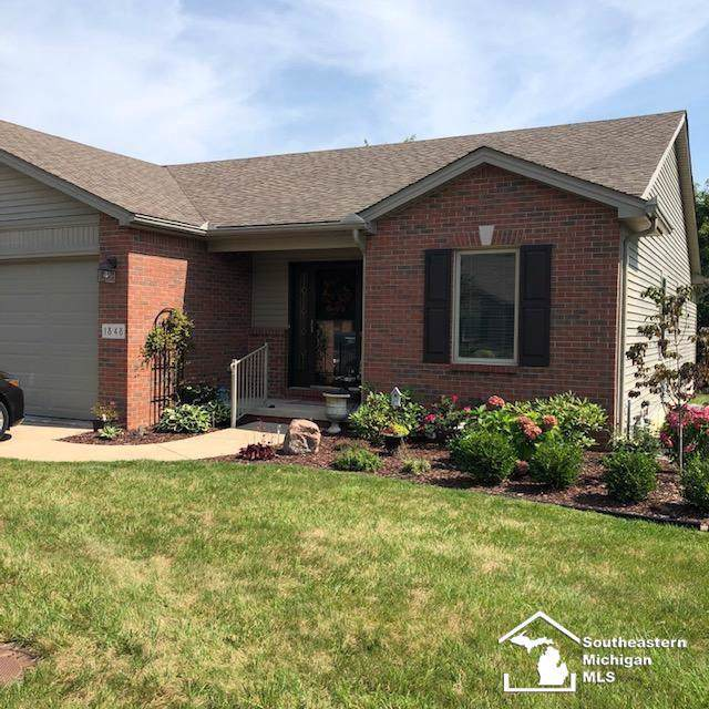 1848 Winding Meadows, Frenchtown Twp, MI 48162 (MLS #57031393968) :: The Toth Team
