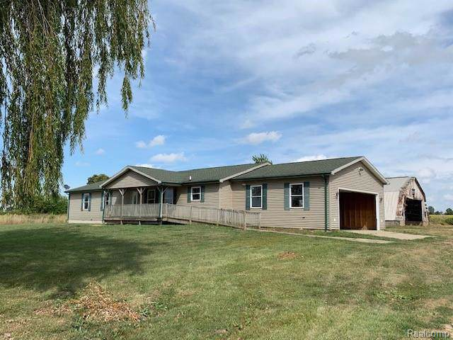 2970 N Blacks Corners Road, Goodland Twp, MI 48444 (#219093962) :: Alan Brown Group