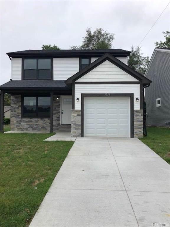 1755 E George Avenue, Hazel Park, MI 48030 (#219094644) :: The Alex Nugent Team | Real Estate One