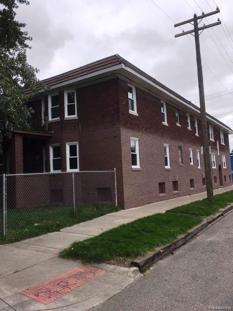 1701 Evans Street, Detroit, MI 48209 (MLS #219096315) :: The Toth Team