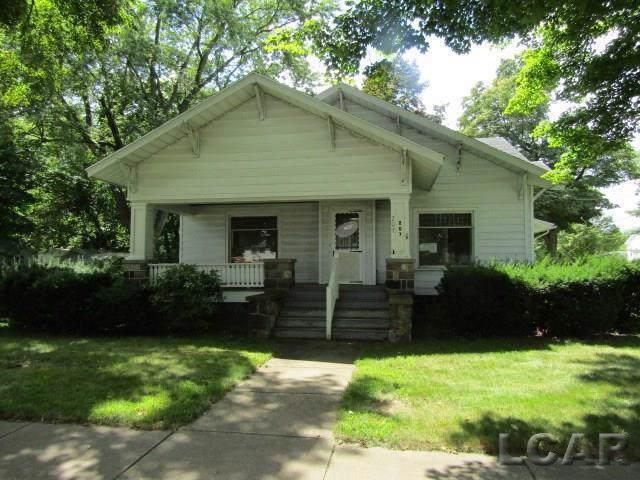207 Evans Street, Jonesville, MI 49250 (#56031394912) :: The Alex Nugent Team   Real Estate One