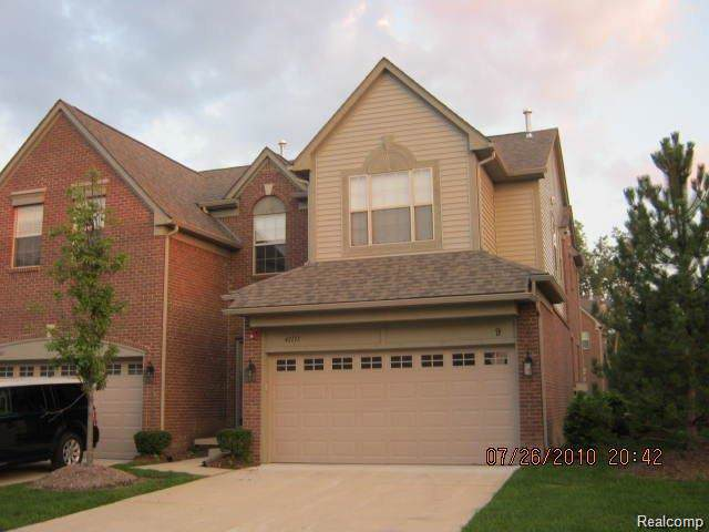 41111 N Maplewood Drive, Canton Twp, MI 48187 (#219097402) :: The Mulvihill Group