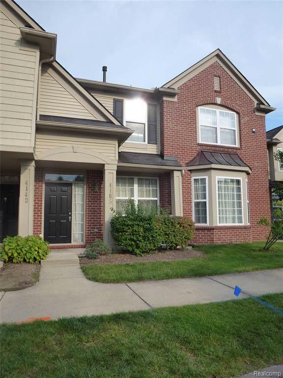 4165 Elizabeth Avenue #137, Canton Twp, MI 48188 (#219098571) :: The Buckley Jolley Real Estate Team