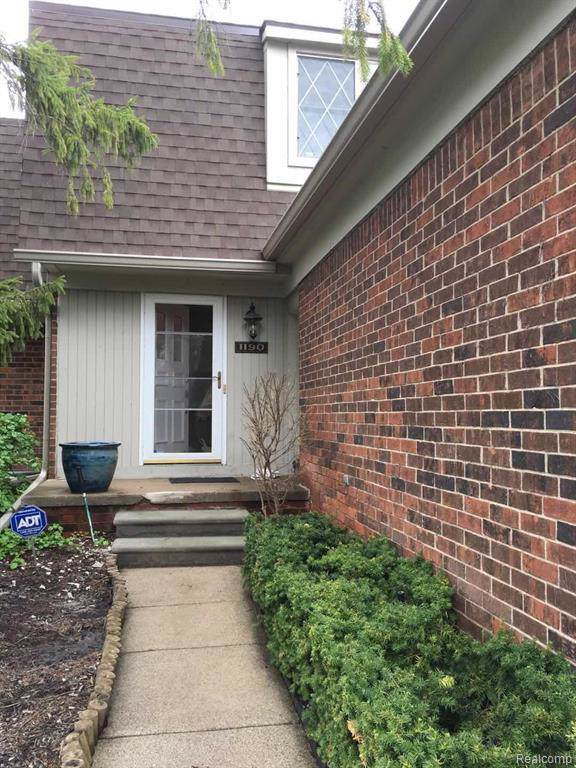 1190 Rolling Hills, Bloomfield Twp, MI 48302 (#219100368) :: The Buckley Jolley Real Estate Team