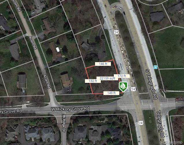 0 Hickory Grove Road, Bloomfield Twp, MI 48302 (#219104059) :: The Buckley Jolley Real Estate Team