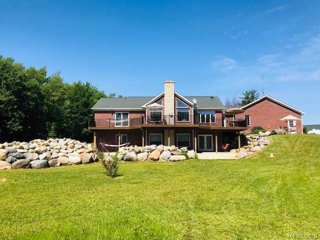 8302 Shaw Road, Goodland Twp, MI 48444 (#219106196) :: The Mulvihill Group